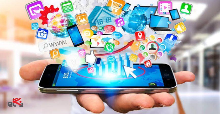 شبکه های اجتماعی در موبایل