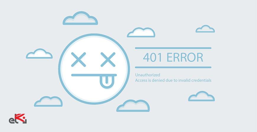 خطای 401 چیست؟