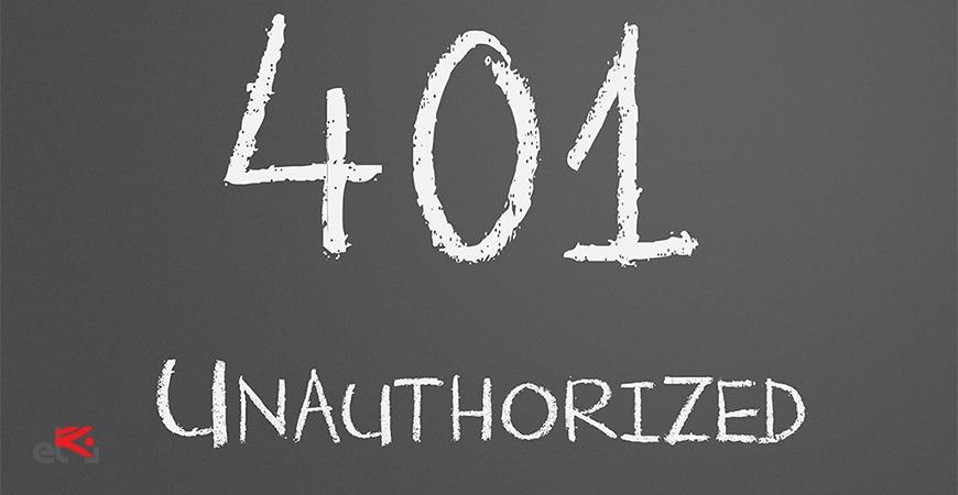 خطای 401