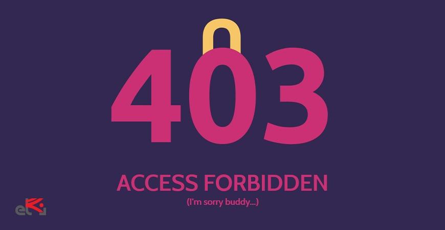 ارورر 403